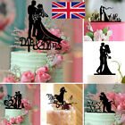 Wedding Acrylic Cake Topper Bride Groom Mr Mrs Wedding Decorations Cake Toppers