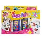 Glass Paint Set Painting Kit  Transparent Opaque Stained Paints UK Stockist