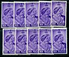 1948 Silver Wedding stamps Omnibus Malaya States - MNH - Select from List CD289