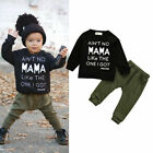 Toddler Kid Baby Boy Clothes Set Tops+Pants Trousers Outfits Tracksuits 2pcs