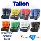 Work of Art Acrylic Paint Tube Set All Colours Crafts Artists Painter 120ml