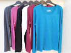 JEZEBEL LADIES LONG SLEEVE SUPER SOFT COTTON LAYERING T-SHIRT 6 COLOURS 4 SIZES