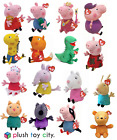 "TY PEPPA PIG, GEORGE & FRIENDS SOFT PLUSH TOYS 6"" - 7"" LOTS TO CHOOSE, BRAND NEW"