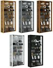 Large Glass Display Cabinet Wall Mounted Extra Tall Toys Vapes Various Colours