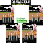 Duracell AA AAA Rechargeable Batteries NiMH 2500 1300 900 750mAh Stay Charged