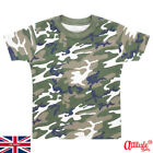 Baby Clothes Wholesale-Bulk Buy Baby Camouflaged T Shirts-Camouflaged Baby Tees
