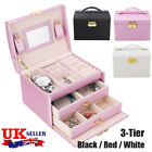 Large Jewellery Box Cabinet Necklace Armoire Birthday Organizer Bracelet Hot