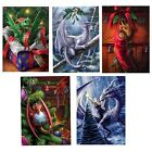 Anne Stokes Yule Midwinter Solstice Greeting Card Alternative Christmas Fantasy
