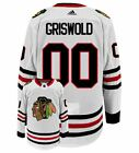 CHICAGO BLACKHAWKS NHL ICE HOCKEY JERSEY SHIRT GRISWOLD 00 NATIONAL LAMPOONS
