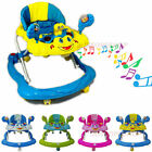 NEW Baby Walker First Steps Push Along Bouncer Activity Music Ride On Car Melody