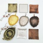Table Coasters Mats Manual Copper Tea Coffee Cup Pad Heat Resistant Decoration