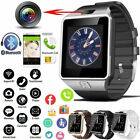 DZ09 Bluetooth Camera Smart Watch For Android 8 HTC Samsung iPhone X iOS UK*