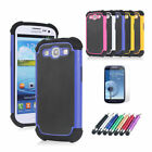 NEW HIGH QUALITY HEAVY DUTY SHOCK PROOF CASE COVER FITS SAMSUNG GALAXY S3 i9300