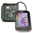 Automatic Digital Blood Pressure Monitor Meter Upper Arm LCD Display 180 MEMORY
