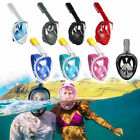 S/M Anti-Fog Swimming Diving Full Face Mask Surface Snorkel Scuba for GoPro uk