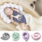 3M Baby Infant Plush Crib Bumper Bedding Bed Cot Braid Pillow Pad Protector