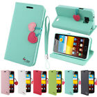 Case For Samsung Galaxy S2 Phone Cute Magnetic Wallet Leather Flip Stand Cover