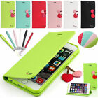 For Apple iPhone 4s/4 Luxury Cute Magnetic Wallet Leather Flip Case Stand Cover