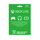 Xbox LIVE 12 Month Gold Membership For Microsoft Xbox One/Xbox 360 Fast Delivery