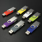 32GB 64GB 64MB-512MB USB 2.0 Swivel USB Stick Flash Pen Drive Memory Stick Disk