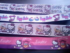 HELLO KITTY EASTER RIBBON - 4 Design s - 2 metres