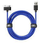 JuicEBitz® 20AWG USB Data Charger Cable Lead for Samsung Galaxy Tab 2 Note 10.1