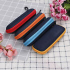 Portable rectangle grid zipper glasses case hard eyewear box for sunglasses—AY