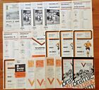 Bramley Rugby League Programmes 1962 - 1986