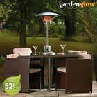 Gas Patio Heater Outdoor Fire Table Top Freestanding Powerful 4KW by Garden Glow