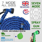 Garden Watering Spray Gun Hose Pipe With Fitting Nozzles Connectors Car Washing