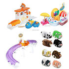 Zhu Zhu Pets Hamsters Playsets Electronic Intercative Overpass Pizza Ice Cream