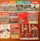 Wigan Rugby League Programmes 1959 - 2005