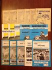 Warrington Rugby League Programmes 1962 - 2012