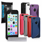 Accessories For The Apple iPhone 5/5S Stylish Silicone Gel Case Cover & Film UK