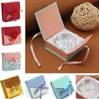 UK Square Bowknot Package Bracelet Bangle Jewelry Display Box Gift Present Case