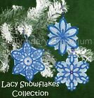 LACY SNOWFLAKES COLLECTION - MACHINE EMBROIDERY DESIGNS ON CD