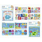 BABY BATH BOOK PLASTIC COATED FUN EDUCATIONAL TOYS CHILDREN TODDLER - SOFT BOOKS