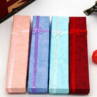 QA_ BOWKNOT LONG NECKLACE BRACELET DISPLAY STORAGE CASE JEWELRY GIFT BOX CLASS