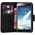 Case Cover For Samsung Galaxy S2 Flip Leather Wallet book phone luxury