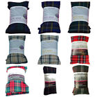 Tartan Wheat Heat Packs With Pure Lavender Soft Microwave Freezer Wheat Bag New