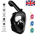 Anti-Fog Swimming Diving Full Face Mask Surface Snorkel Scuba for GoPro L/XL/S/M