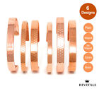 Copper Magnetic Bracelet - Arthritis Therapy Healing Relief Bangle - Men Ladies