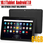 "10.1"" Tablet PC Android 7.0 64GB Octa-Core Google WIFI Dual Camera Bluetooth UK"