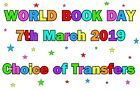 WORLD BOOK DAY IRON ON T-SHIRT TRANSFER  CHOICE OF TRANSFERS CAN PERSONALISE