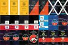 SCOTLAND v WALES RUGBY PROGRAMMES 1953 - 1989  **REDUCED PRICES** - FIVE NATIONS