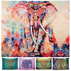 New Indian Mandala Wind Elephant Tapestry Wall Hanging Throw Hippie Cover Dorm