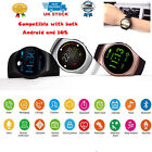 Smart Bluetooth Watch Wrist Splash Proof Phone Mate Android Samsung IOS iPhone