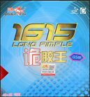 2x Double Fish 1615 40+ Long Pips-out Table Tennis Rubbers, New, GBP