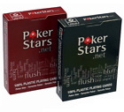 Official POKERSTARS 100% Plastic COPAG Casino Poker Playing Cards Deck Pack NEW