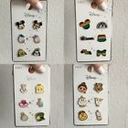 DISNEY NEW CHARACTER PIN BADGES SET OF SIX PRIMARK
